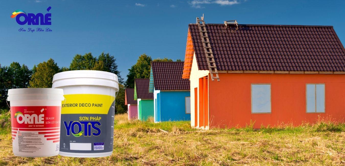Công ty Lợi Tường chuyên cung cấp, sản xuất sơn, bột trét tường ORNE và YOTIS