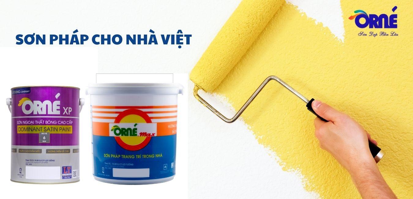 Uy tín đi đôi với chất lượng, sơn ORNE mang lại vẻ rạng vời và bảo vệ mọi công trình