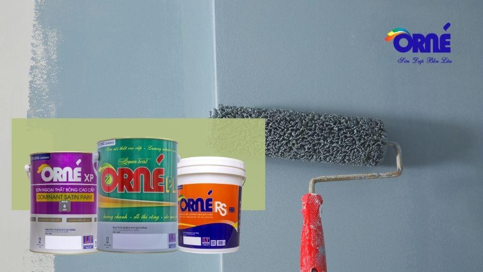 lưu ý khi sơn nhà